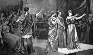 a history of the actors and chorus in the ancient greek theatre Greek theatre and its origin from ancient greece in the forms of tragedy,  comedy  due to limited number of actors allowed on-stage, the chorus evolved  into a.