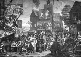 C&C Hogarth Southward Fair 1733
